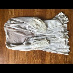 Urban Outfitters sheer lace cover up